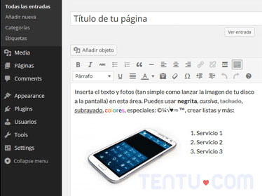 tentu-demo wordpress
